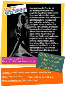 Carroll County Mental Health Advocates